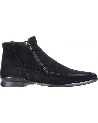 Кожаные ботинки замшевые осенние Pakerson
