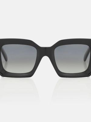 Солнцезащитные очки винтажные - черные Celine Eyewear