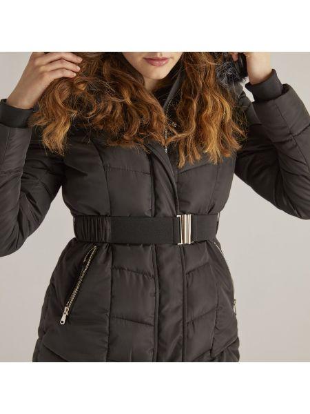 Черная куртка с капюшоном Rene Derhy