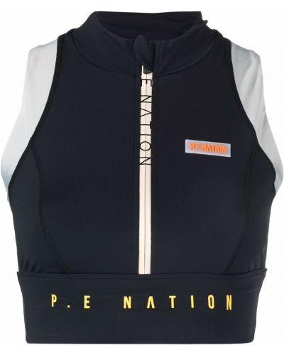 Спортивный бюстгальтер - черный P.e Nation