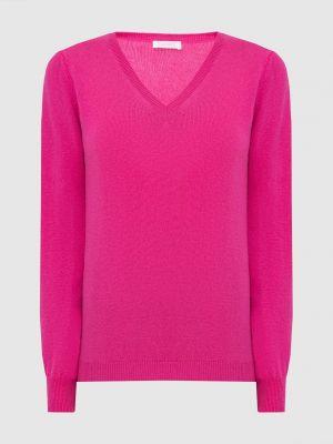 Кашемировый пуловер - розовый Malo