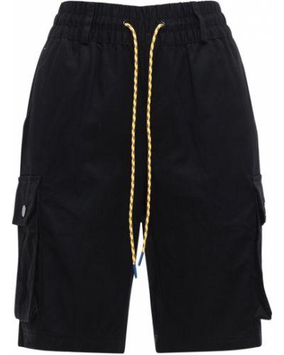 Шорты карго эластичные с завязками с аппликациями Adidas Originals
