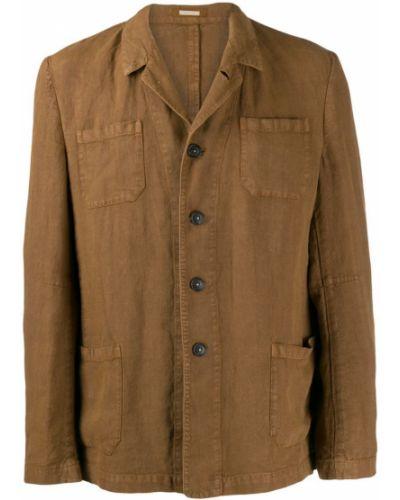 Куртка льняная укороченная Massimo Alba