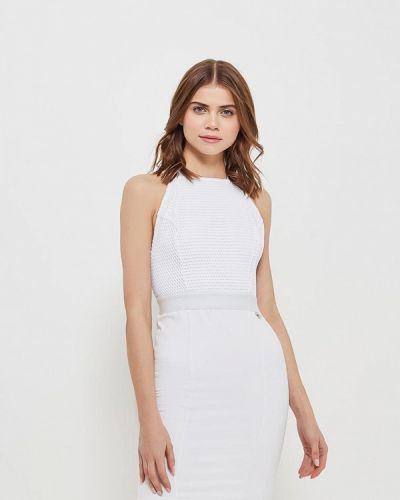 Белое платье Met