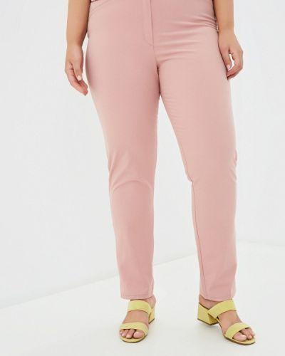 Зауженные брюки - розовые Prewoman