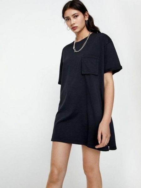 Платье футболка осеннее Pull&bear