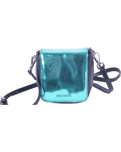 Кожаный сумка зеленый Iceberg