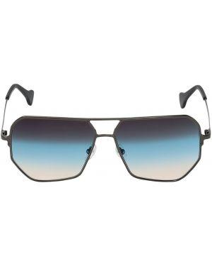 Niebieskie okulary Saturnino Eyewear