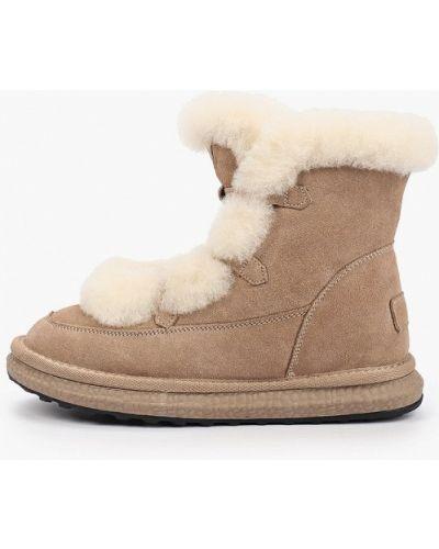 Высокие ботинки - бежевые Wilmar
