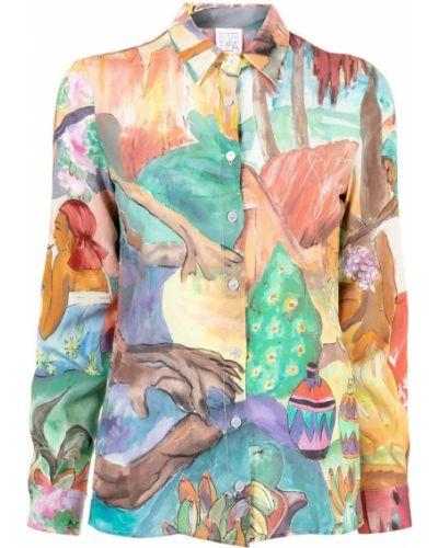 Рубашка с воротником Stella Jean