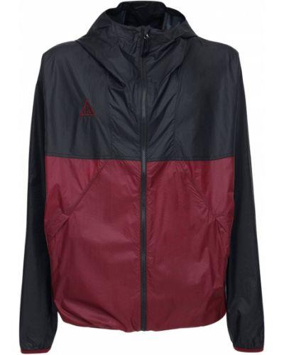 Черная куртка с капюшоном с сеткой Nike Acg