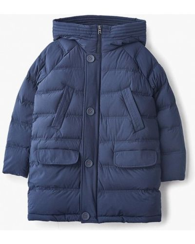 Куртка теплая синий Ea7