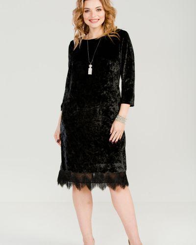 Платье с бахромой с V-образным вырезом марита