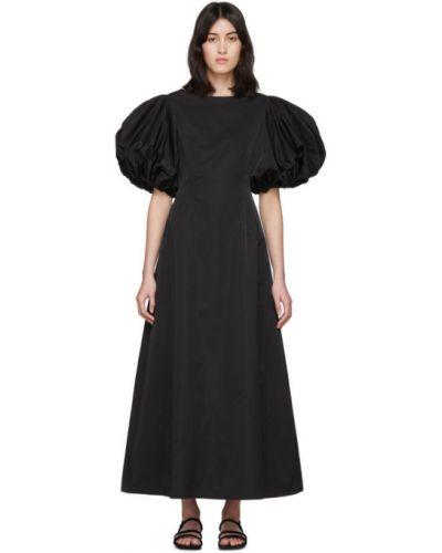 Платье макси с воротником с отложным воротником Edit