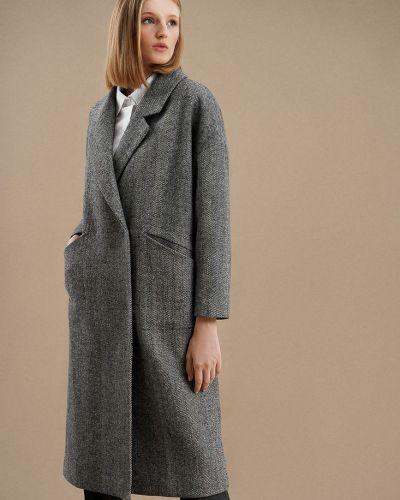 Шерстяное пальто - серое O'stin