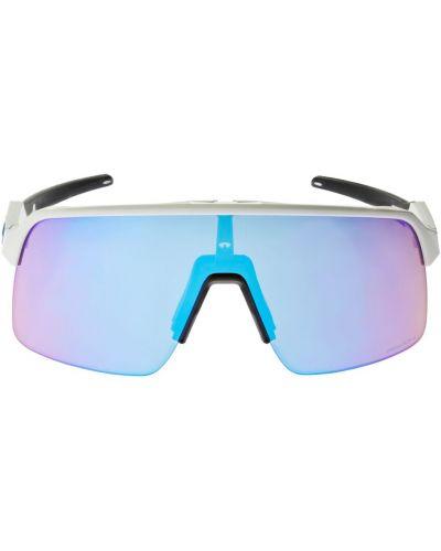 Białe okulary Oakley