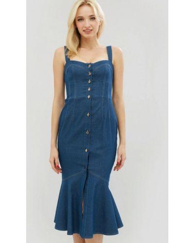 Джинсовое платье весеннее Cardo