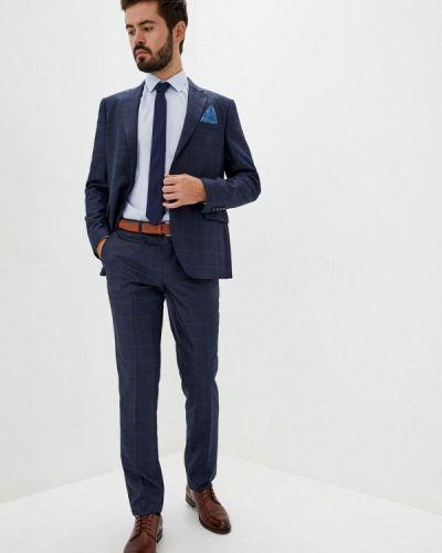 Костюмный синий костюм классический Navi