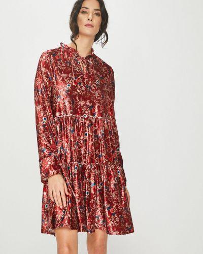 Платье с длинными рукавами трикотажное Answear
