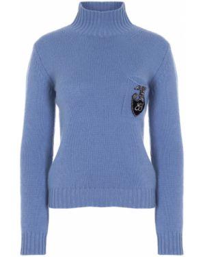 С рукавами кашемировый свитер с воротником с карманами Ermanno Scervino