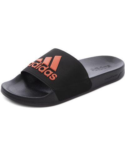 Шлепанцы для бассейна черные Adidas