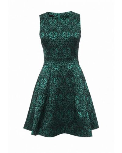 Платье зеленый Oodji