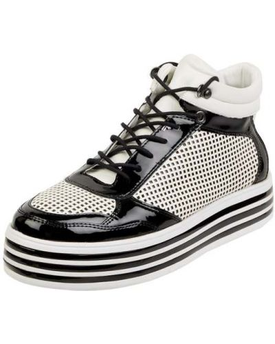 Buty sportowe skorzane - czarne Gerry Weber Shoes