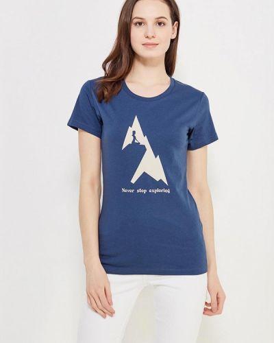 Синяя футболка The North Face