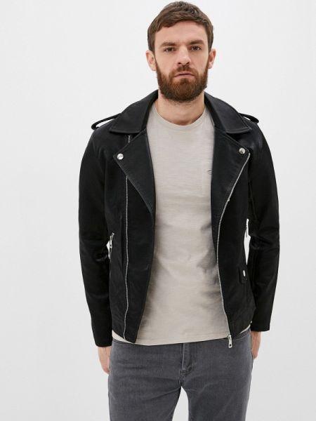 Кожаная кожаная куртка Jackets Industry