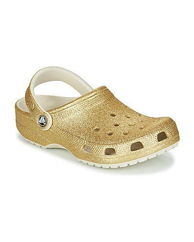 Chodaki, żółty Crocs