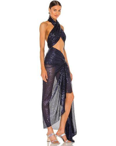 Złota sukienka długa Bronx And Banco