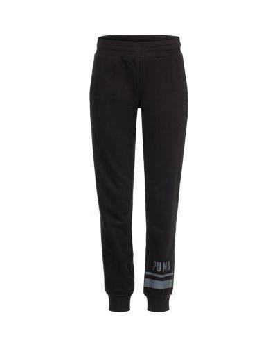 Спортивные брюки льняные с карманами Puma