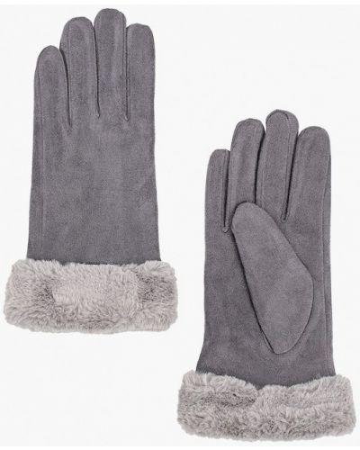 Серые кожаные перчатки Marks & Spencer