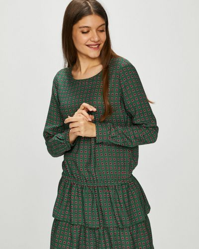 Платье мини свободного кроя с оборками Scotch & Soda