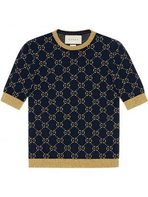 Top - niebieska Gucci