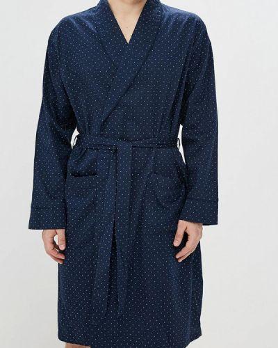 Синий халат Marks & Spencer