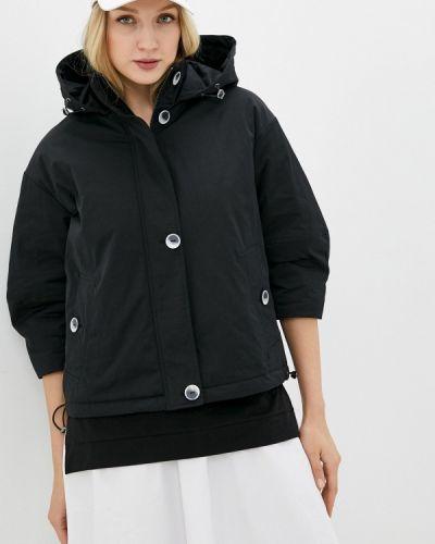 Утепленная куртка - черная снежная королева