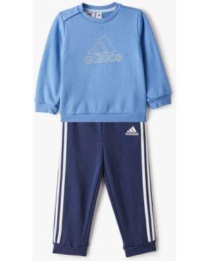 Спортивный костюм синий костюмный Adidas