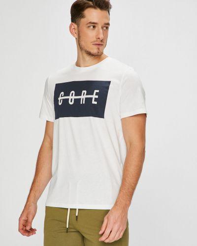 Белая футболка Jack & Jones