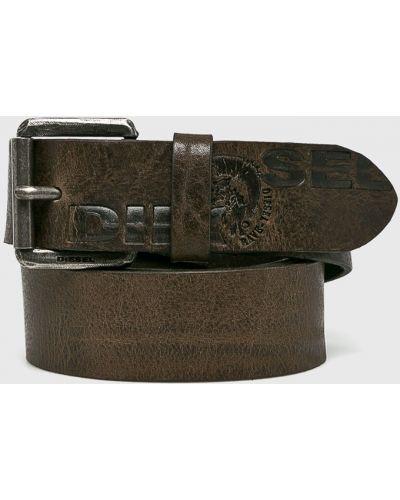 Ремень кожаный с пряжкой Diesel