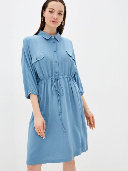 Платье - синее Unq