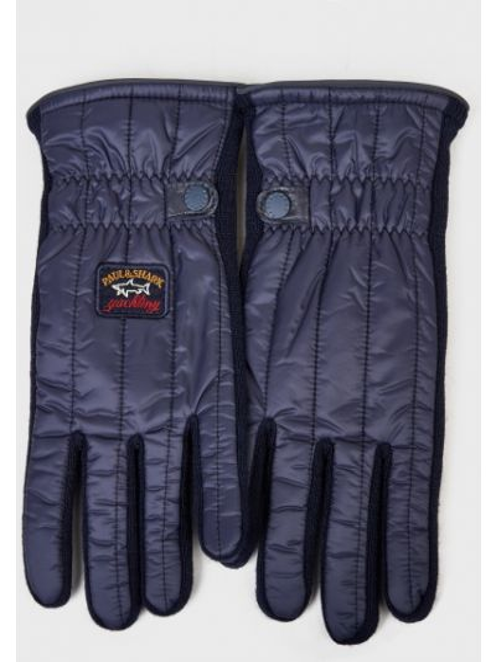 Синие перчатки Paul&shark
