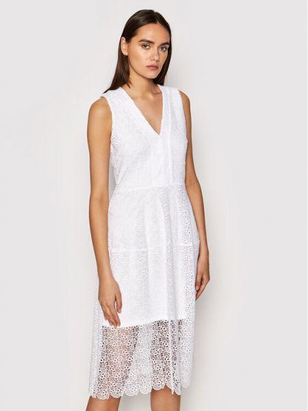 Biała sukienka koktajlowa Michael Michael Kors