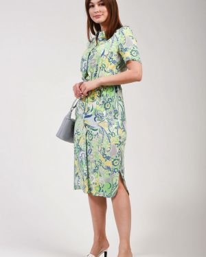 Платье из вискозы Lebek
