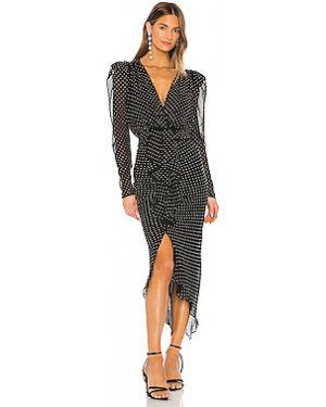 Платье миди на молнии с вырезом Ronny Kobo