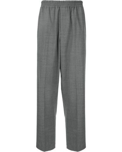 Прямые брюки с поясом новогодние Knott Men