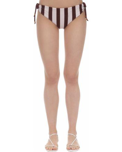 Biały bikini z printem Johanna Ortiz