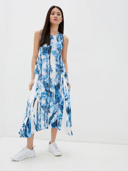 Повседневное платье с завышенной талией весеннее High