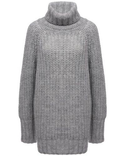 Серый трикотажный свитер Pietro Brunelli