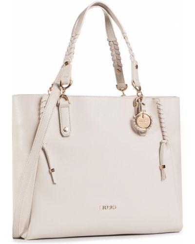 Beżowy torba na zakupy Liu Jo